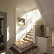 Traditional Staircase by Tracery Interiors