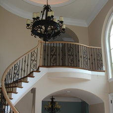 Mediterranean Staircase by Carolina Lighting Gallery