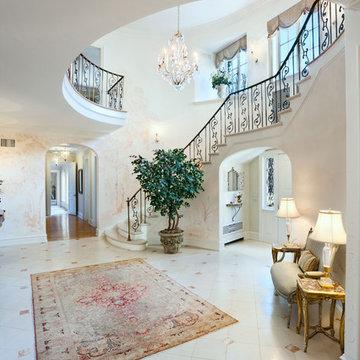 Foyer, Mansion, Old Greenwich, New York