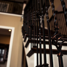Traditional Staircase by Lotz Home & Office, LLC