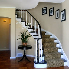 Traditional Staircase by Michelle Sasveld, Interior Designer