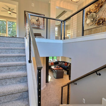 Foyer + Stairwell - The Ascension - Super Ranch on Acreage