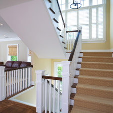 Traditional Staircase by Sandy Spring Builders