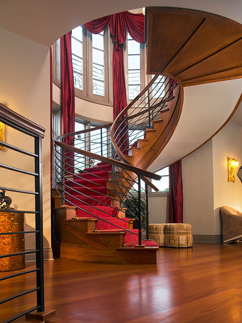 Foyer Stairs Review : Foyer stairs entry houzz