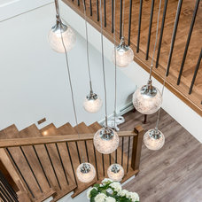 Transitional Staircase by Vancouver General Contractors