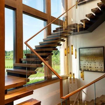 Frank Llloyd Wright Inspired Home