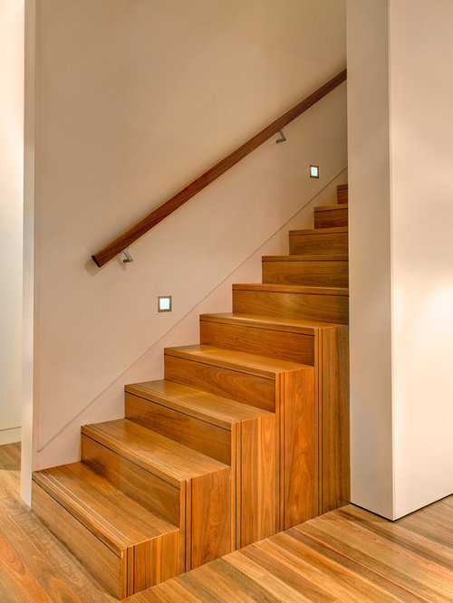 Inspiration For A Contemporary Straight Staircase Remodel In Sydney