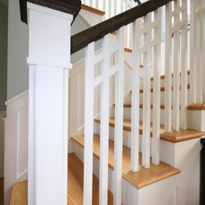 Eclectic Staircase by Robert Nehrebecky AIA, Re:New Architecture