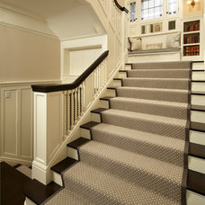 Traditional Staircase by Peterssen/Keller Architecture