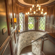 Traditional Staircase by J. Bryant Boyd, Design-Build