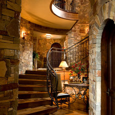 Mediterranean Staircase by Nor-Son, Inc.