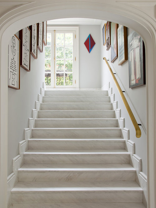 Marble Staircase Houzz