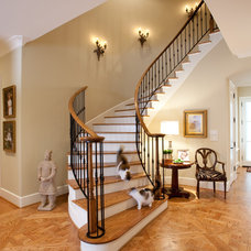 Traditional Staircase by Creative Touch Interiors
