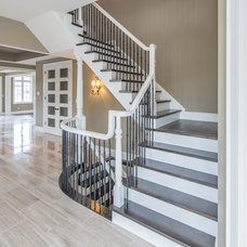 Traditional Staircase by Heather Brook