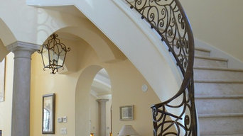 French Country Home Railing