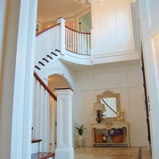 Traditional Staircase by Sheila Mayden Interiors