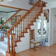 Traditional Staircase Frenchflair