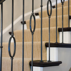 Modern Staircase by Barnes Vanze Architects, Inc