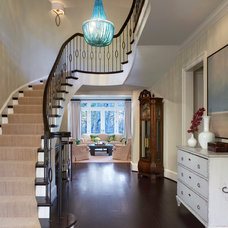 traditional staircase by Barnes Vanze Architects, Inc