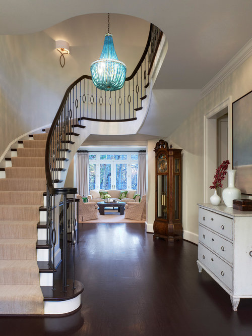 Colonial foyer houzz for Colonial foyer ideas