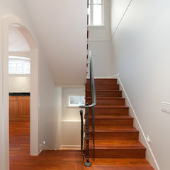 contemporary staircase by Peter Rose Architecture and Interiors