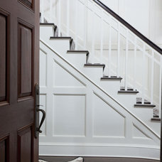 traditional staircase by Tiffany Eastman Interiors, LLC
