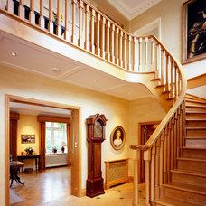 Traditional Staircase by La Rizza Interior Design