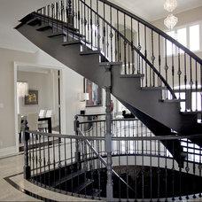 Contemporary Staircase Frybrook