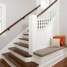 Traditional Staircase by w.b. builders