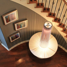 Contemporary Staircase by Dana Frieling Interiors