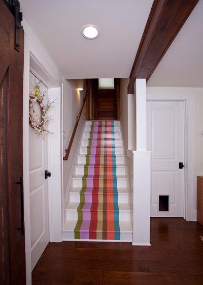 Éclectique Escalier by TreHus Architects+Interior Designers+Builders
