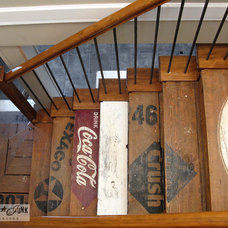 Eclectic Staircase by Funky Junk Interiors