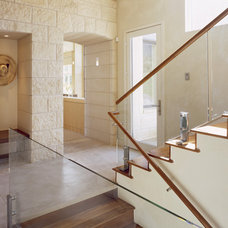 Modern Staircase by ROWLAND BROUGHTON ARCHITECTURE & URBAN DESIGN