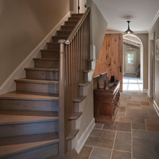 Traditional Staircase by Michael Matrka, Inc