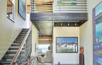 Houzz Tour: A New Home Designed as a Gallery