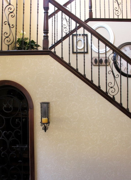 Traditional Staircase by My Uncommon Slice of Suburbia