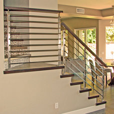 Modern Staircase by Modern Stairs and Railings