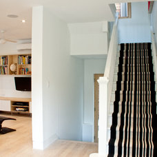 Contemporary Staircase by Solares Architecture