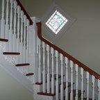 Villanova Residence Landing Traditional Staircase Philadelphia By Archer Amp Buchanan