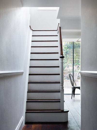 Victorian Staircase by Brosh Architects