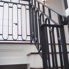 Traditional Staircase by SF Builders