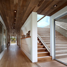 Transitional Staircase by Bates Masi Architects LLC