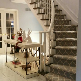 Geometric Stair Runner | Houzz