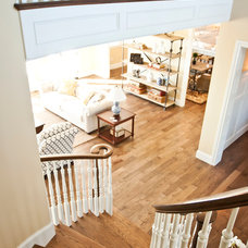 Traditional Staircase by Cyndi Parker Interiors