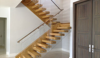 Glass Panels Railings with Standoffs