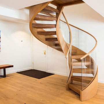 Glass Railing Staircases