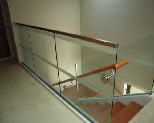 Glass railings interior and exterior for Exterior glass railing