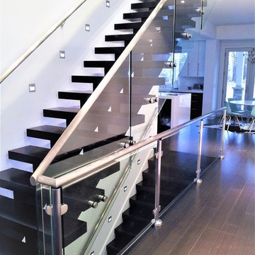 Glass Sided Staircase
