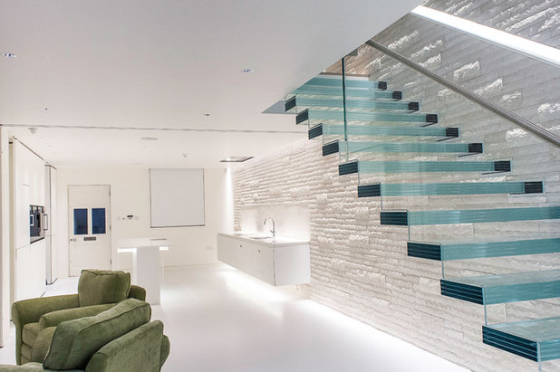 Modern Staircase by Loxone UK