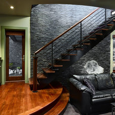 Eclectic Staircase by LS3P | Neal Prince Studio